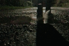 Wet night walk