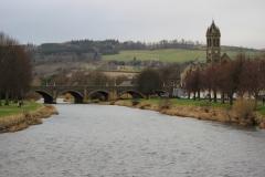Tweed river - Peebles