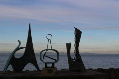Sculpture at Twighlight
