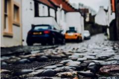 Rain-soaked Cobblestones