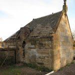 Building before restoration - from railway platform