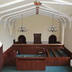 Courtroom before