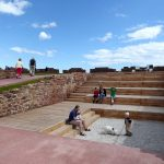 Lamer Island Battery amphitheatre. Image credit rankinfraser landscape architecture.