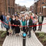 Official project opening with Leader of Dumfries & Galloway Council. Credit Allan Devlin