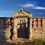 Restored Grants of Ardoch mausoleum. Image Andrew Dowsett