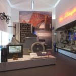The vibrant museum displays, created with community involvement.