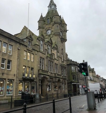 Our Town Hall, Hawick