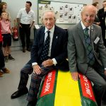 Official opening of building with Sir Jackie Stewart OBE