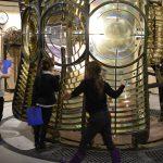 'The immense lighthouse lens commands the central atrium' (Photo credit: Katie Pilcher)