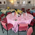 Refurbished uostairs function suite available for parties, weddings etc.