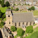 Kirkcaldy Old Kirk from the air