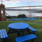 New picnic table and benches