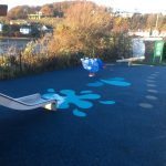 Toddler area of new playpark