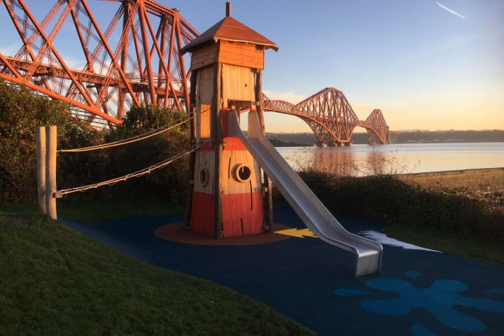 Pierhead Play Park, North Queensferry, Fife