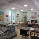 Bridgend Farmhouse Cafe (painted and decorated by volunteers)