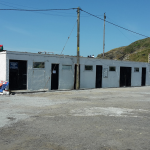 Old sheds - before renovation
