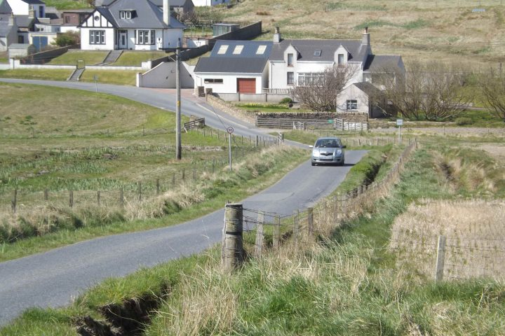 Hoswick to Stove Shared Cycle and Footpath