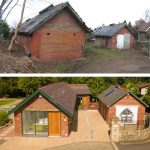 Before and After of Community Hub building