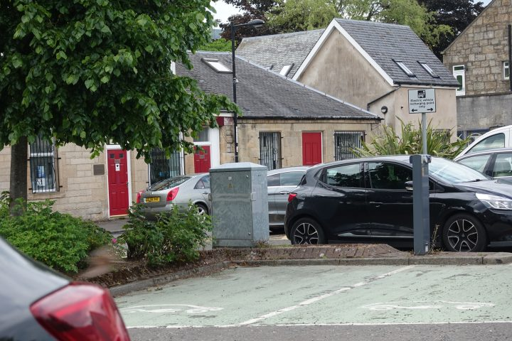 Kilsyth Local Library Electric Car Charging Point