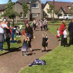 Our village fete to celebrate the day Banton bought our pub!
